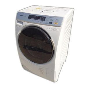 (中古品)パナソニック プチドラム ドラム式洗濯乾燥機 左開き ななめドラム NA-VD11