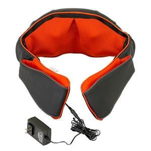 (中古品) 医療機器認可取得 マッサージ器 ネックマッサー も~む 首・肩・背中・腰 マッサージ機 ...