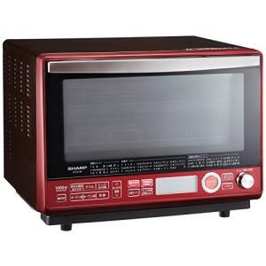 (中古品)シャープ 過熱水蒸気オーブンレンジ 2段調理 31L レッド RE-SS10B-R