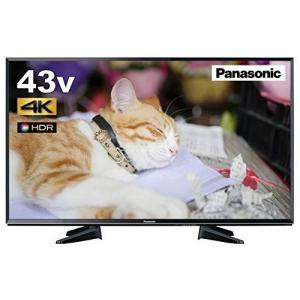 (中古品) パナソニック 43V型 液晶テレビ ビエラ TH-43EX600 4K USB HDD録...