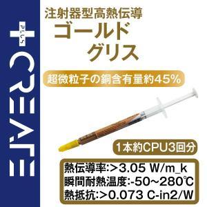 CPUグリス、注射器型で塗りやすいソフトタイプです。  パソコン用、1本入りです。   ・CPUコア...