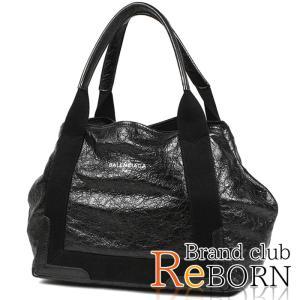 バレンシアガ/BALENCIAGA ネイビー カバ S(ハンドバッグ) ソフトクラフト ヴィンテージラムスキン ブラック 339933 CU51N|reborn-brand