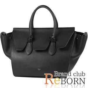 〔良品〕〔A+ランク〕セリーヌ/CELINE タイ ハンドバッグ カーフスキン ブラック 175883 reborn-brand
