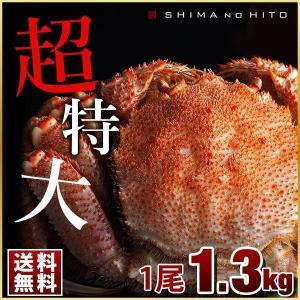 毛蟹 毛ガニ カニ 毛がに かに 蟹 1.3kg 1尾 超特大 ロシア産 海鮮 送料無料 北海道|rebun