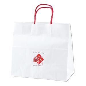 島の人 オリジナル 手提げ 紙袋 中サイズ 贈答 ギフト|rebun