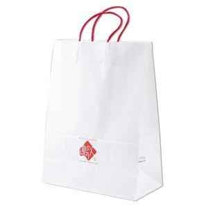 島の人 オリジナル 手提げ 紙袋 大サイズ 贈答 ギフト|rebun