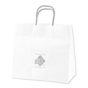 島の人 オリジナル 手提げ 紙袋 中サイズ 弔辞用 ギフト|rebun