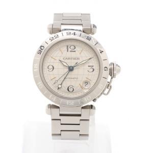 カルティエ Cartier パシャC メリディアン レディース 腕時計 自動巻き SS シルバー シルバー文字盤 2377 レディース 中古 reclo-as-shopping