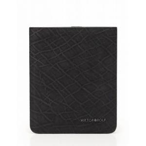 VIKTOR&ROLF ヴィクター&ロルフ iPadケース レザー 黒 2013 ユニセックス 中古 reclo-as-shopping