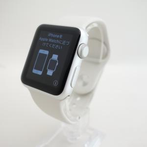【Apple】Apple Watch Sport 38mm シルバーアルミニウム MJ2T2J/A reco
