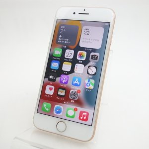【SIMフリー】 iPhone8 256GB ゴールド MQ862J/A|reco