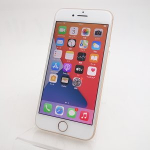 【SIMフリー】 iPhone8 64GB ゴールド MQ7A2J/A #5433