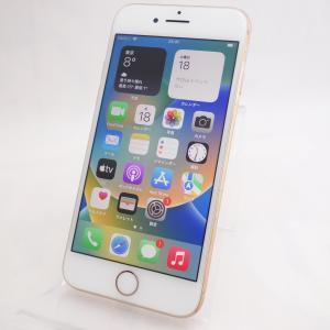 【SIMフリー】 iPhone8 64GB ゴールド MQ7A2J/A #5430