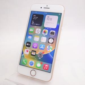 【SIMフリー】 iPhone8 64GB ゴールド MQ7A2J/A|reco