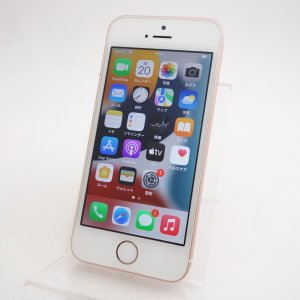 機種:iPhoneSE 型番:MP852J/A カラー:ローズゴールド 容量:32GB 納品時OSバ...