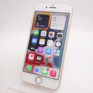 【SIMフリー】 iPhone8 64GB ゴールド MQ7A2J/A #14416|reco