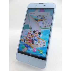 【SIMフリー】Disney Mobile on docomo DM-01J ブルー