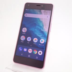 【SIMフリー】Android One S4 S4-KC ピンク Y!mobile版SIMロック解除品 reco