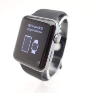 【Apple】Apple Watch Series 3 Nike+ (GPSモデル) 42mm スペースグレイアルミニウムケース #13570 reco