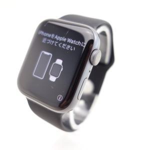 【Apple】Apple Watch Series 4 Nike+ (GPSモデル) 44mm スペースグレイアルミニウムケース #13566 reco