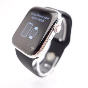 【Apple】Apple Watch Series 4 (GPS+Cellularモデル) 44mm シルバーステンレスケース #14483 reco