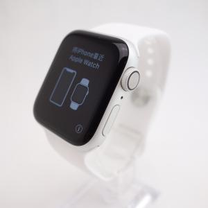 【Apple】Apple Watch Series 4 (GPSモデル) 40mm シルバーアルミニウムケース reco