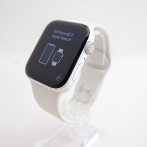 【Apple】Apple Watch Series 4 (GPS+Cellularモデル) 44mm シルバーアルミニウムケース reco