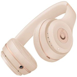 【Beats by Dr.Dre】Beats Solo3 Wireless ワイヤレスオンイヤーヘッドホン マッドゴールド MR3Y2PA/A【国内正規品】 reco