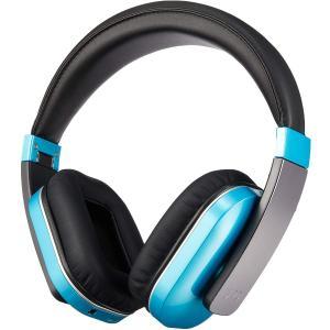 【UPQ】Q-music HDP5/BG 折りたたみ式密閉型Bluetooth4.0対応ワイヤレスヘッドフォン ブルー・アンド・グリーン reco