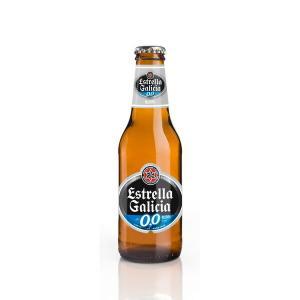 エストレーリャ・ガリシア 0,0 250ml Estrella Galicia 0,0 ノンアルコールビール 清涼飲料 スペイン 1ケース販売:24本入り|recommendo