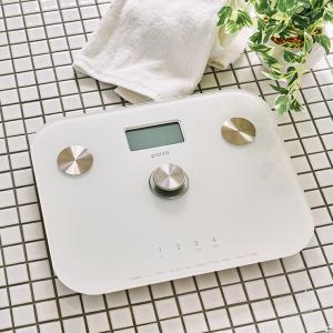 ポルト polto 電池不要 体組成計 へルスメーター シックスバランス 半永久使用 エコ体組成計 筋肉率 BMI 体脂肪率 体重計 AIM-WS10の画像