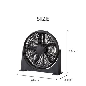 大型サーキュレーター 扇風機 送風機 大型 BOX扇 サーキュレーター 循環用 工業扇 熱中症対策|recommendo|02