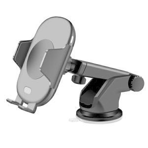 スマホスタンド C10-BK 車載ホルダー オートセンサー 自動開閉 ワイヤレス充電器 スマホホルダ...
