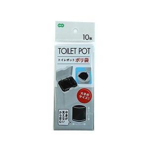 オーエ トイレコーナー用 ポリ袋 ブラック 30×25cm 10枚入 recommendo