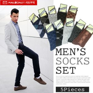SELECTION  セレクション メンズ靴下5足SET SOX-SE|recommendo