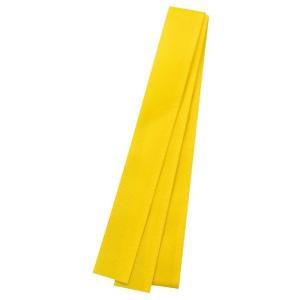 カラー不織布ハチマキ 黄 運動会 発表会 イベント たすきはちまき|recommendo