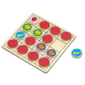 リバーシ&えあわせパズル フルーツ 知育玩具 パズル