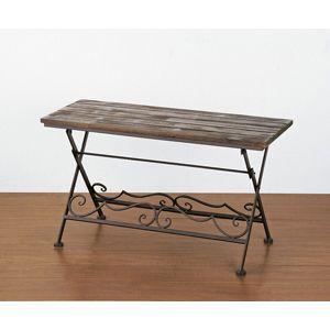 ローテーブル アイアンとウッドを組み合わせたローテーブル|recommendo