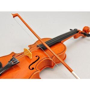 手動・自動演奏 バイオリン ブラウン 楽器玩具 知育玩具 、インテリアにも|recommendo