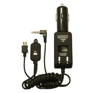 PROTEK スマートフォン用FMトランスミッター手ぶら通話+充電 ブラック PSTM-MC-BK recommendo