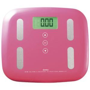 体重体組成計 ピエトラプラス ピンク 家電 健康 美容家電 ...