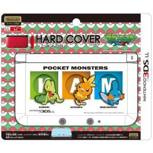 ジュピター 3DSLL用 ハードカバーforニンテンドー3DSLL(キモリ・アチャモ・ミズゴロウ) P059  代引不可