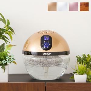 空気清浄機 小型 バイオナースボール DX 「水で空気を洗う」 アロマ空気清浄機 大容量 除菌 消臭付 PM2.5 対応 花粉 ソウイジャパン|リコメン堂