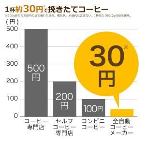 siroca シロカ crossline 全自動コーヒーメーカー SC-A221SS コーヒー豆 粉 ステンレスメッシュフィルター 保温機能付き recommendo 05