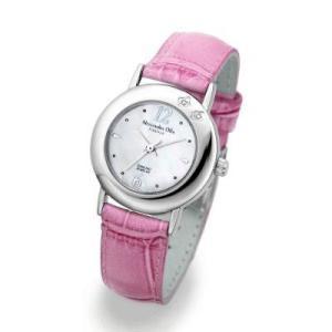 シックだけど存在感あり アレサンドラオーラ レディース腕時計 AO-6900シリーズ|recommendo