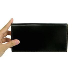 革の宝石コードバン 総マチ付き長財布|recommendo