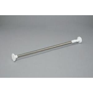 アイリスオーヤマ 浴室用ステンレス超強力伸縮棒 伸縮棒棚 (ホワイト) 2.8M YSP-280
