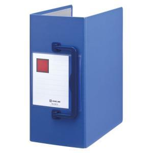 キングジム キングファイル スーパードッチ 特厚130mm 青 1冊|recommendo