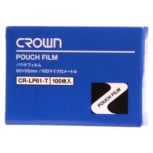 クラウン パウチフィルム 名刺用 1 箱 CR-LP61-T 文房具 オフィス 用品|recommendo