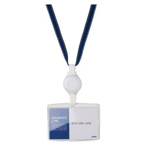 ソニック ハードケース&リールストラップ ブルー 1 個 AL-894-B 文房具 オフィス 用品|recommendo